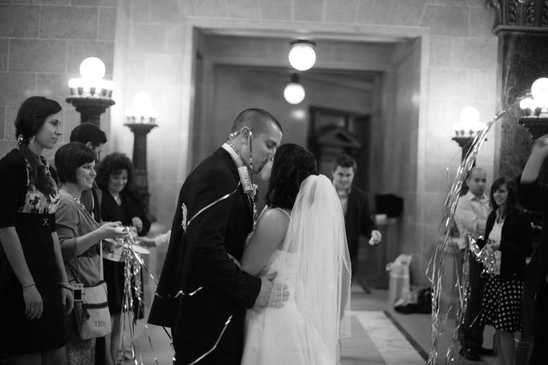 Steph & Todd's intimate wedding