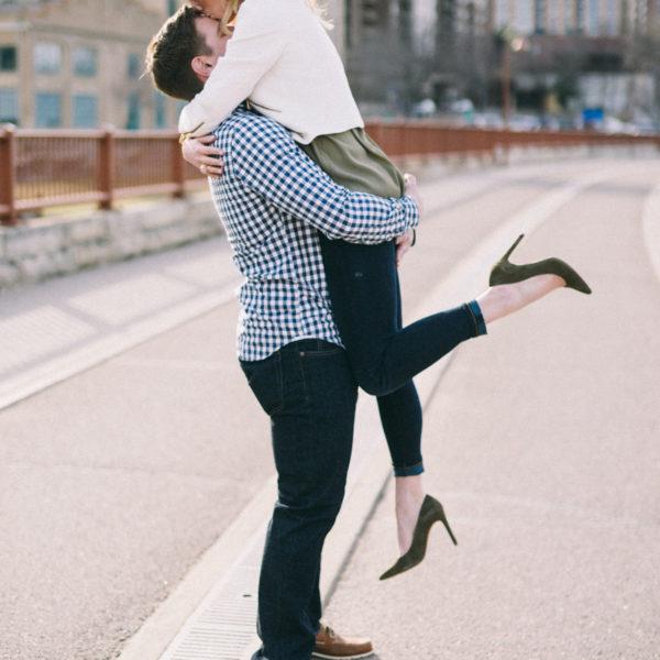 Minneapolis Engagement Photography | Christina and Jeff