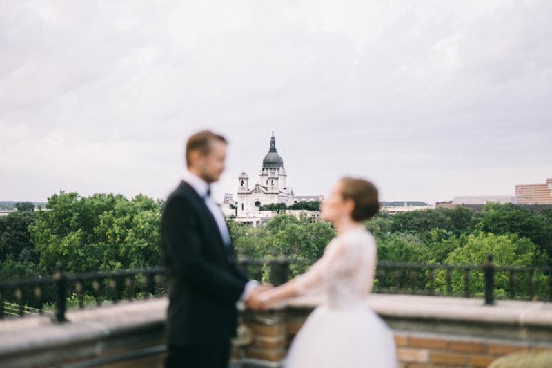 Aubrie & Shawn | Basilica of St. Mary Minneapolis Wedding