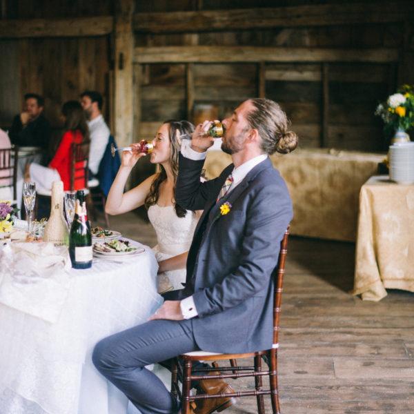 Maine Barn Wedding Photography | Abi & Don