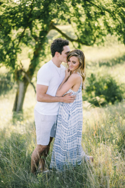 Rolling Hills engagement session