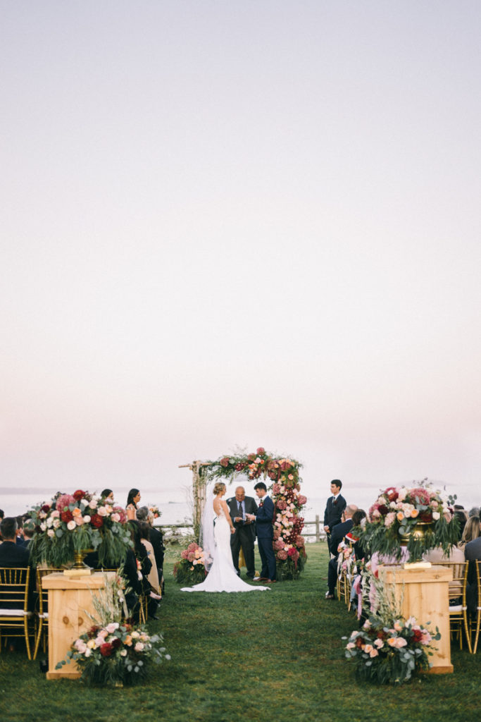 Black Point Inn Prouts Neck Scarborough Maine Ocean Front Wedding