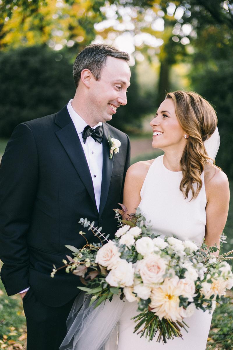 Romantic Fall Fine Art Wedding in Nicollet Island Pavilion Minneapolis