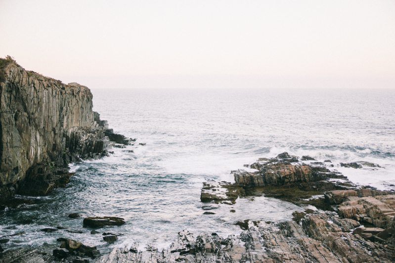Maine Cliff Wedding | Rocky Coast Wedding in York Maine