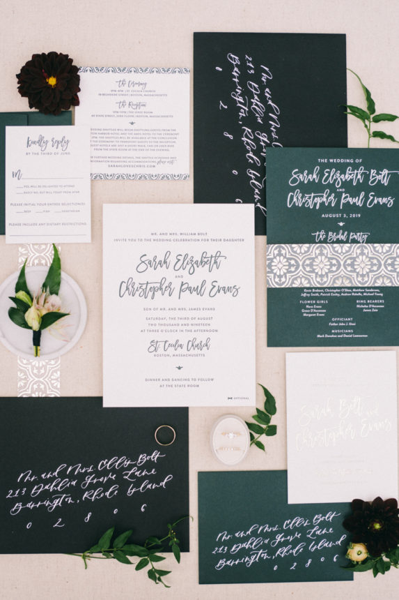 Modern Boston Wedding