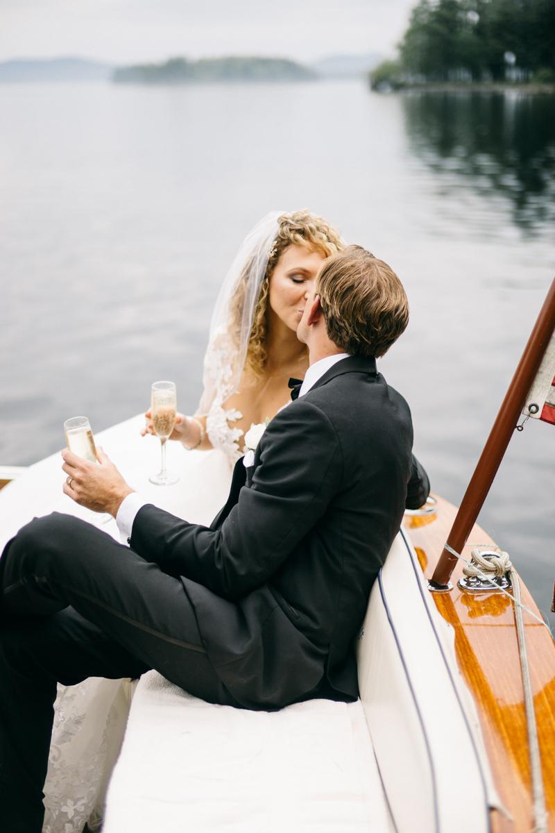 forest fairytale wedding migis lodge maine