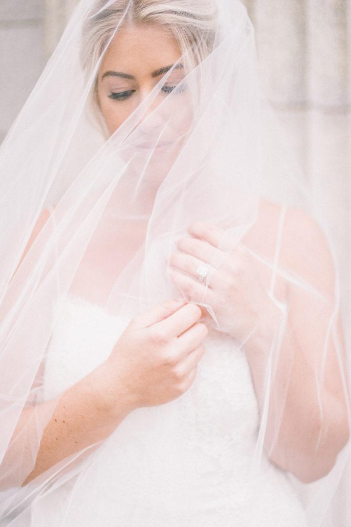 modern elegant all white wedding