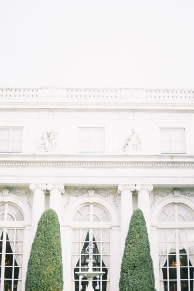 Rosecliff Mansion black tie wedding Newport Rhode Island