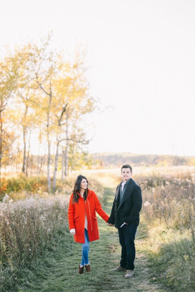 Falmouth Audubon Fine Art Engagement Session Maine