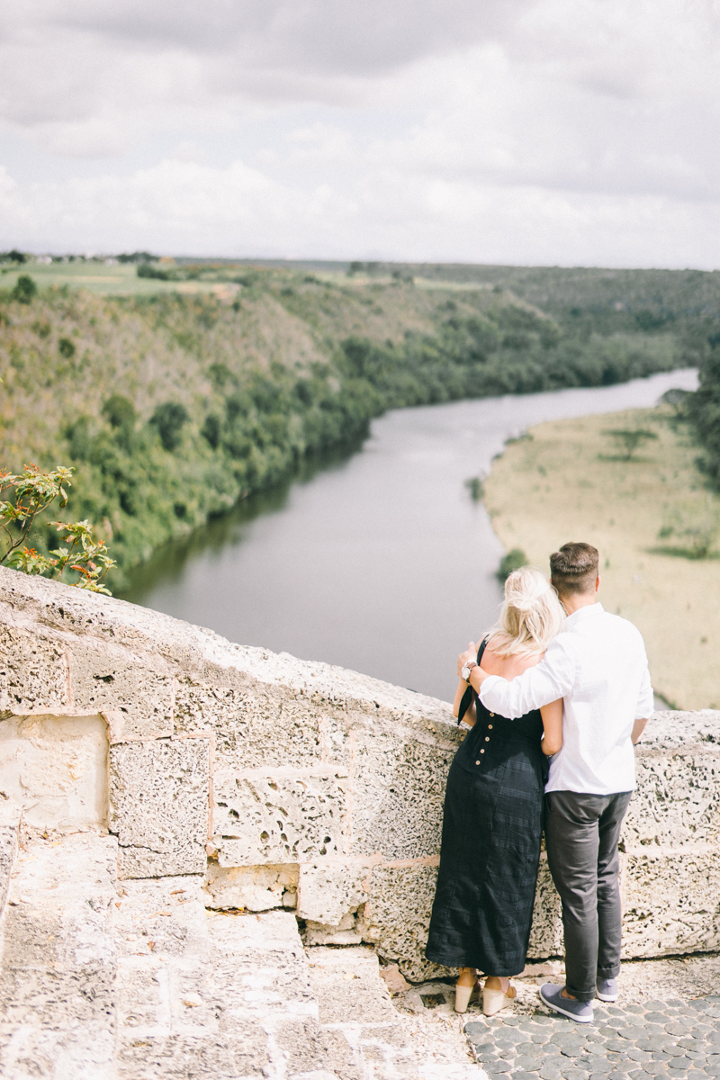 dominican republic engagement photos punta cana altos de chavon fine art engagement session
