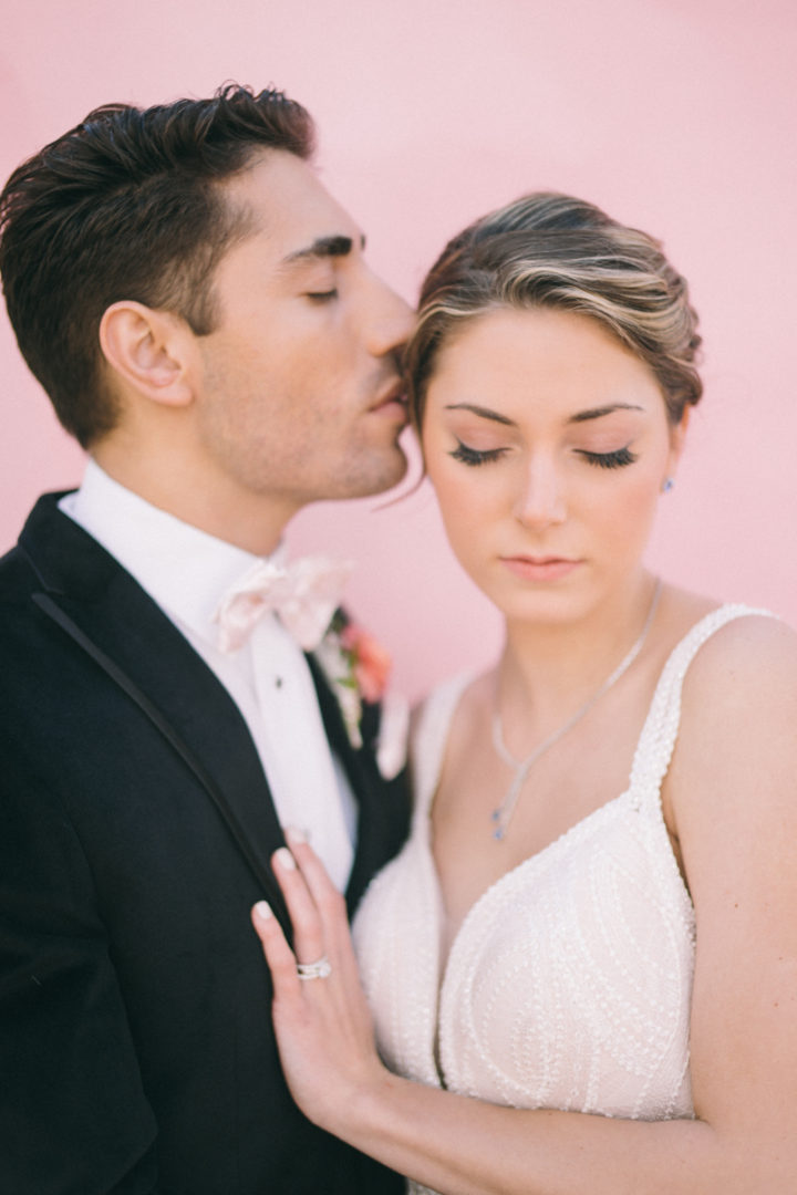 newport feminine pink wedding | newport rhode island