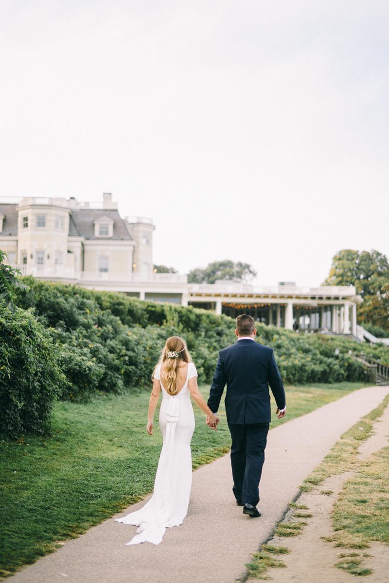 newport rhode island mansion wedding the chanler